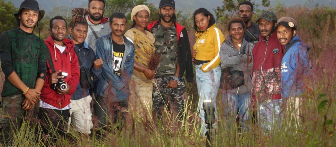 Rumput Mei Membawa Keindahan Tersendiri di Wamena